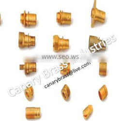 brass mechanical precision machining part