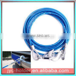 Multifunction Steel Vehicle Car Tow Rope With Hooks