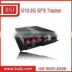 3G car GPS tracking device support two-sim/sd card and camera BSJ-G10