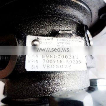 Apply For Engine Turbocharger 49134-00220 100% New Excellent Quality