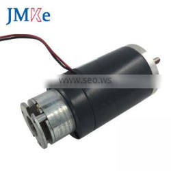 JMKE 12V 24V DC Customized Electric Motor with Brake for DIY brushed motor