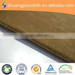 wholesale polyester weft knitted spun velvet fabric