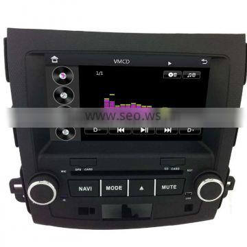 car dvd gps studio For MITSUBISHI OUTLANDER car gps with auto radio Bluetooth SD USB Radio wifi 3G