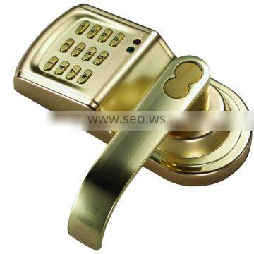 electric keypad lock left and right handle interchange