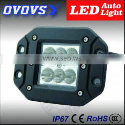 2014 New product! 18w led work light for truck 12v offroad/driving light led 3w/pc auto light