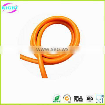 Clear medical use extruded silicone hose/silicone tubing