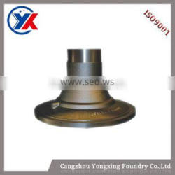 grey cast iron wheel hub for mining machinery with factory direct price