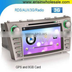 "Erisin ES7668M 8"" HD Car DVD/USB Player GPS 3G 1080P For TOYOTA AURION CAMRY"
