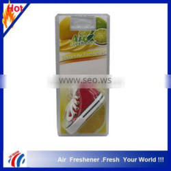 new design Colorful Shoe Hanging Car Air Freshener