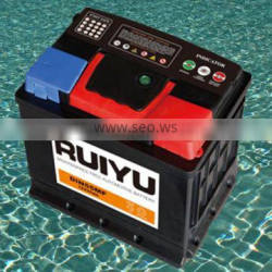 rechargeable battery 55530 DIN 55 12V 55AH auto batteries car battery