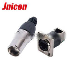 indoor and outdoor 90 degree data connector for led display