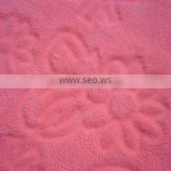 New fashion arrived 100 polyester coral fleece fabric, PV fleece