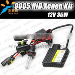 Hid xenon kit 12v DC 35w ballasts single beam auto headlight car lamp H1 H3 H7 9005 9006 H8 H9 H11 880 881 xenon hid kit