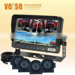 7 inch quad Backup Rearview Monitor For Bus