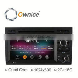 Ownice C200 Android 4.4 & Android 5.1 Car Radio for Audi A4 S4 Quad Core with Wifi BT 2G Ram 1024*600