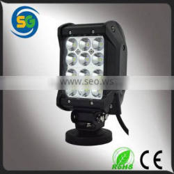 4inch 36w led light bar quad row super bright led light bar