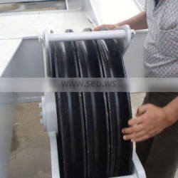 multi grooved wire drawing pulley