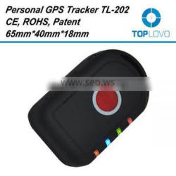 TopLovo Factory sim card gps tracking device with free online