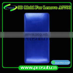 3Dsublimation smartphone cover aluminum injection mould for Prosub-Lenovo A7700