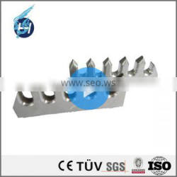 ISO9001 manufacturer customized sewing high precision machined parts u-shaped stainless steel bracket for stone handrail claddin