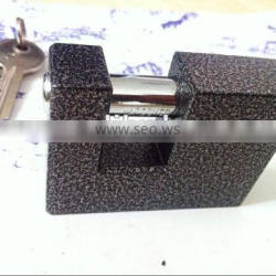 black rectangular padlock