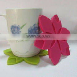 popular and cheapest silicone cup pad / silicone cup mat