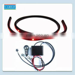 RGB 7 color Decorative flexible led strip kit for motorcycle made in China