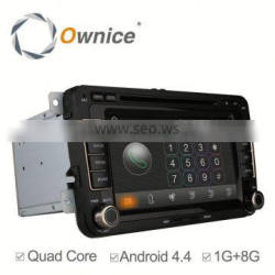 Quad core Android 4.4 Ownice car multimedia For vw passat B5 golf bora Built-in Wifi 800*480 support 3G
