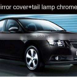 Chevrolet CruzeSide mirror cover+tail lamp chrome molding GM