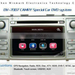 7 inch special camry car dvd player for toyota camry