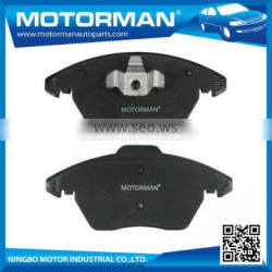 MOTORMAN Free Sample Available high performance top quality car brake pad D1107-8686