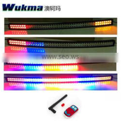 """RGB Color Blasting Flash Led Light bar , Remote Control Doule Row 30"""" 40"""" 50inch Led Work Light Bar For 4X4 offroad Suv Car 4WD"""