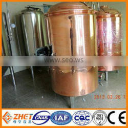 beer equipment made by SUS 304 or red copper/CE and ISO certification