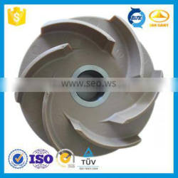 Customized material PPS-GF40 Impeller for Water Pumps