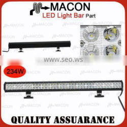 234W used cars auction in japan auto led light bar Waterproof rate IP 67