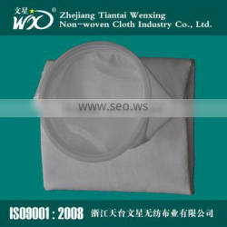 Plastic opening Micron nonwoven needle felt filter bag