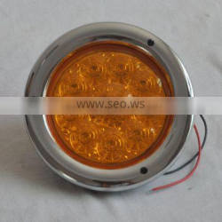 led decoration light for truck with plating edge