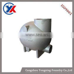 Chinese Better Quality Iron Cast Parts Centrifugal Water Pump , Water Pump For Diesel Machine,Water Pump Body