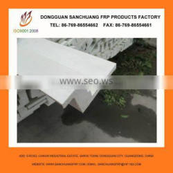 Chemical resistant fiberglass pultrusion profile application for building
