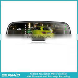 multi-function car rearview mirror 4.3 inch germid rearview mirror