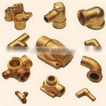 China Precision Brass Forging fittings