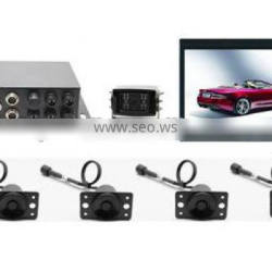 PS-7003 7 inch LCD Monitor Car parking camera sensor system with 0.4-3.5m detection