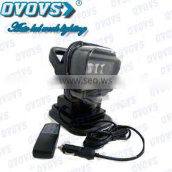 50w Led Search Light for heavy duty vehicle, boat with remote control
