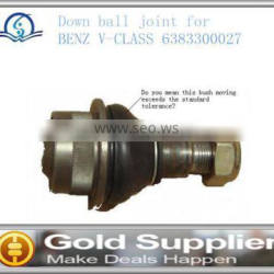 Brand New Down ball joint for BENZ V-CLASS 6383300027 with high quality and most competitive price.