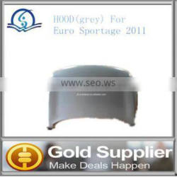 Brand New HOOD(grey) For Euro Sportage 2011 with high quality and most competitive price.