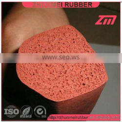 60 Shore A silicone sponge section
