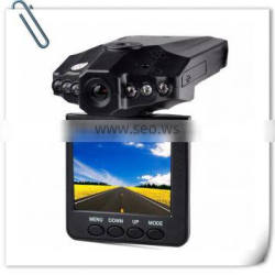 "2.5"" LCD Screen 6 LED Night Vision Vehicle Car Detector camera Recorder 120 Degree Wide View Angle HD Car DVR~"