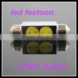 wholesale car lights 12v led festoon bulbs C5W 36mm 2SMD car innterior light led reading light for cars festoon light