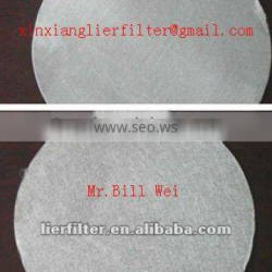 316L 5-40micron sintered no-woven fiber felt with protected mesh