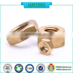 2016 professional manufacture High Factory Supply Brass Nut